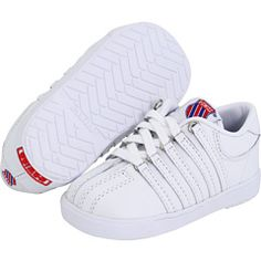 K-Swiss Kids - Classic™ Leather Tennis Shoe Core (Infant/Toddler)