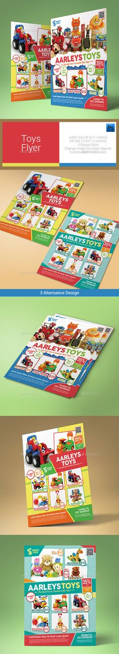 Daycare  Playgroup Flyer  Flyer Template Print Templates And