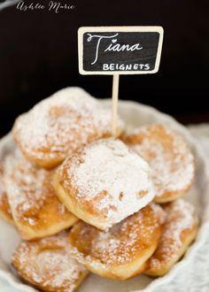 a copycat beignets recipe from Disney parks, Princess Tiana's man catching recipe