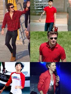 THE BOYS IN RED !!! ❤️ ^o^