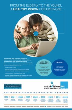 Discover a wide range of advanced surgeries for vision correction - LASIK, ICL, ReLEx SMILE & Cataract only at Maxivision Super Speciality Hospitals. Maxivision has been on the forefront of visoin care revolution since 1996. Here's your chance to experience spotless & spectacle free vision with Maxivision's unparalleled expertise and care. Avail Free Consultation & Screening for Cataract & Free Consultation and Evaluation Test for LASIK, ICL & ReLEx SMILE. Book an appointment today!