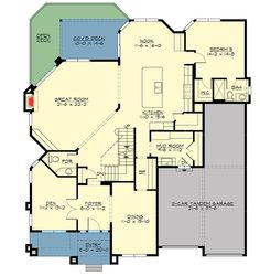 Plan 23650JD: Craftsman House Plan with Optional Lower Level