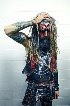 Rob Zombie, such an incredibly talented and intelligent man, plus hes got the hottest wife ever