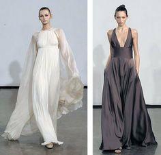 Halston beauties...effortless and elegant.