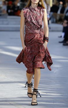 Best of Paris Fashion Week Isabel Marant Look 18 on Moda Operandi