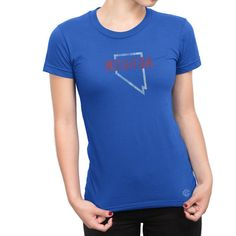 STATE AND CITY Women's Nevada State Tee by STATEANDCITY on Etsy