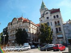 Oradea, Romania, Black Eagle Palace, from www.worldgreatcities.com