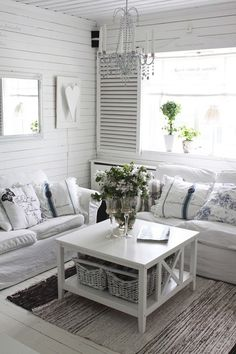 Shabby chic is wonderful. It easily can add a feminine, romantic touch to any interior and make it quite unique.   shabbychiclivingroom #shabbychicinterior #livingroom #livingroomremodel #ideas #decor