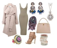 """$$$"" by kjmazeltov ❤ liked on Polyvore featuring Lanvin, Etro, Bijoux de Famille and Louis Vuitton"