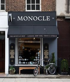 The Monocle store NYC.
