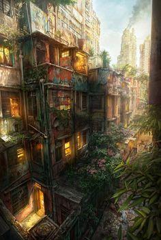 Urban Jungle by JonasDeRo