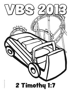 Free Roller Coaster VBS 2013 coloring sheet from Guildcraft Arts & Crafts! #VBS #VBS2013 #VBS13. To use in SS before VBS??? https://www.guildcraftinc.com/VBS-2013-Rolller-Coaster.aspx