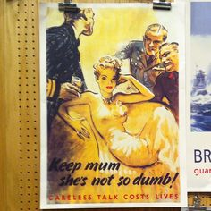 Poster at Imperial War Museum