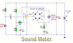 Sound Meter Diagram #Electronics