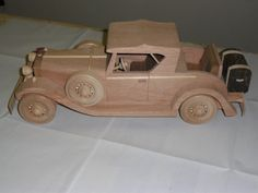 1931Cadillac Roadster - by LarryN @ LumberJocks.com ~ woodworking community