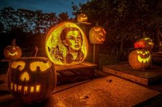 Amazing Jack-o-lanterns by Passion for Pumpkins
