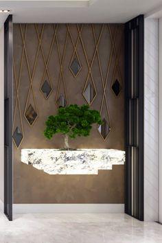 Feature Wall Design, Wall Panel Design, Wall Decor Design, Foyer Design, Entrance Design, Ceiling Design, House Wall Design, Feature Walls, Staircase Design