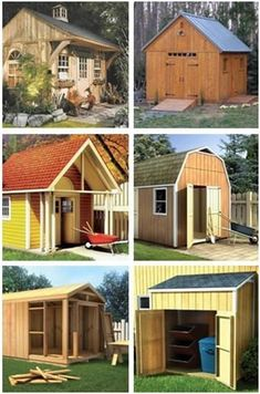 WOOD Magazine's Shed Plans and DIY Shed Building Guide - Choose from dozens of styles and sizes at WoodStore.com, download your plans and start building today. #diysheds