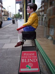 Blind charity collection box (thanks Steven ) Old Sweets, Grow Up People, High Street Shops, The Old Days, Do You Remember, Old Pictures, Happy Day, Childhood Memories, Fundraising