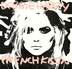 DEBBIE HARRY French Kissin 45 1986 w/pic sleeve Warhol Sprouse art BLONDIE #ElectroSynth1980s