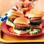 Texas Beef Council - Recipe Book - Burgers - Sweet Hawaiian Mini Burgers