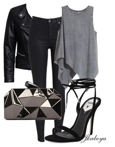 """Full Moon"" by craze92 on Polyvore featuring Sisters Point, H&M, Windsor Smith and WithChic"