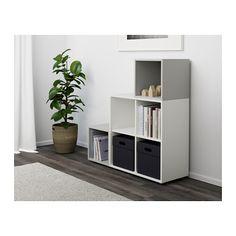 EKET Cmb dlp+pcr IKEA O soluție de depozitare asimetrică pe care o personalizezi cu lucrurile tale.
