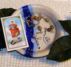 Unbreakable Relic Chaplet of St. Expedite  by foodforthesoul, $24.95