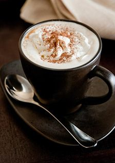 Types of Coffee and FAQ.  Speciality drink cappuccino Viennese