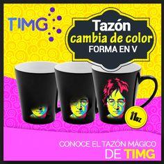 En #TiendasTIMG tenemos disponible Tazón cambia de color en forma V 11oz. Conoce El Tazón Mágico de TIMG. ¡Aprovecha su existencia! Y sublima con los mejores productos, #SublimaconTIMG. Ingresa al link directo y ve más sobre este producto http://www.suministro.cl/product_p/1060010103.htm