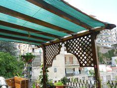 copertura a telo del patio griglie e rifiniture costruite e montate estate 2014