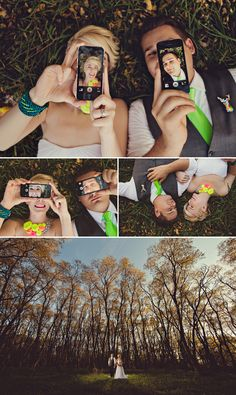 Great idea about smartphone photo, from Gauper Photography / fotos novios / bodas / foto con celular
