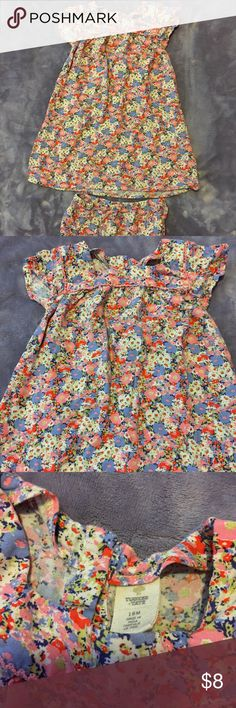 Tucker & Tate Dress Adorable dress with matching bloomers. I put Cowboy Boots on my little one and she rocked it!  Size 18 months, no defects!  Bundle and save 20%! Tucker + Tate Dresses Casual
