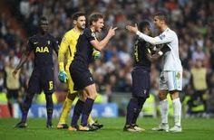 Tottenham: final score Spurs earn historic draw at the Bernabeu Uefa Champions League, Tottenham Hotspur, Real Madrid, Premier League, Finals, Poker, Happy, Final Exams, Ser Feliz
