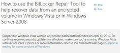 Best Fix To BitLocker Recovery — You Deserve It – Medium