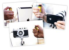"Case for iphone 6 GIZMON iCA REMOTE SHUTTER ""GIZMON iCA REMOTE SHUTTER"" is a small handy remote shutter which looks like a cute film cartridge. You can use it with iOS devices that have a camera function, such as the iPhone, iPod touch and iPad. You can take photos without handshake even in dark places."