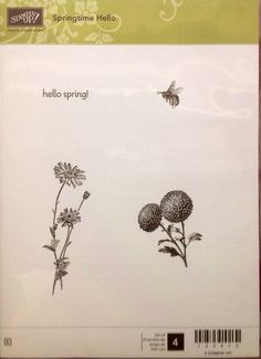 Springtime Hello (Stampin' Up)