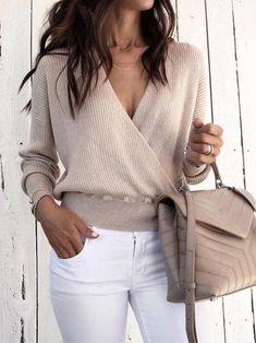 Pullovers Women Sweater Female Solid Black Grey Warm Sweater Tops V-Neck Long Winter Warm Crop Short Sweaters Wrap Sweater, Long Sleeve Sweater, Sweater Cardigan, Jumper, Velvet Cardigan, Loose Sweater, Batwing Sleeve, Ribbed Sweater, Cotton Sweater