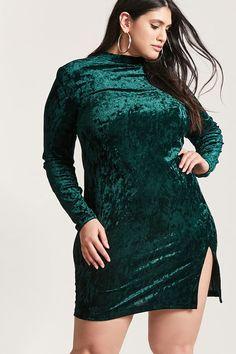 0d6b8624c43 Product Name Plus Size Crushed Velvet Shift Dress