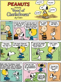 Peanuts - thanks to my husband for finding this wonderful piece of nostalgia.
