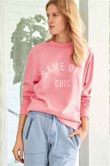 A cosy layer to see you through the seasons, shop women's loungewear for laidback hours. Better In French, Graphic Sweatshirt, T Shirt, Slogan, Lounge Wear, Denim, Chic, Lady, Sweatshirts