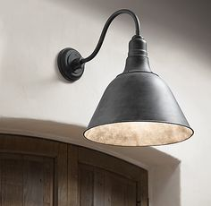Vintage Barn Angled Shade Sconce Bedroom Light Fixtures