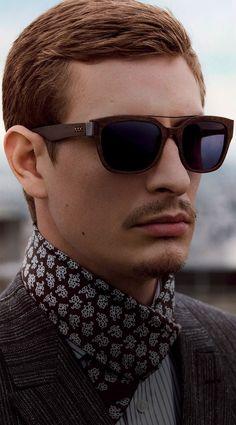 Occhiali da sole uomo  collezione Ermenegildo Zegna Couture Moda Senza  Tempo 94a43376209