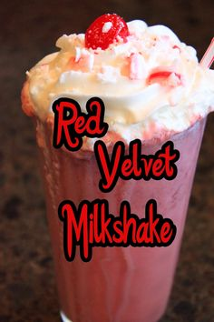 The Disney Diner: Red Velvet Milkshake Recipe from Min & Bill's Dockside Diner (Hollywood Studios)