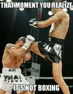 Muay Thai knee