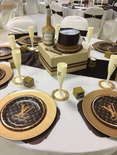 Give them something to talk about with custom  Louis Vuitton party supplies from mycustompartybox  https://my-custom-party-box.myshopify.com/ #customparty #louisvuitton #partystyling #partydecor