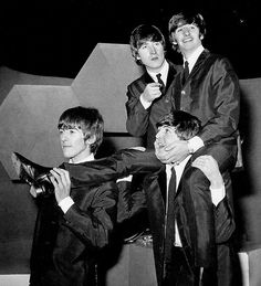 """ ""I was an only child with three brothers."" -Ringo Starr """