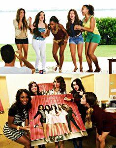 Fifth Harmony ♛♔♕ ♡ ♡ Fifth Harmony Ally Brooke Hernandez, My Girl, Cool Girl, Fifth Harmony Camren, Photo Recreation, Divas, Camila And Lauren, Girl Bands, These Girls