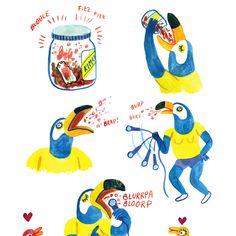 BoJack Horseman Illustrator Lisa Hanawalt Used to Fear Horses