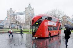 Novo design dos onibus de Londres